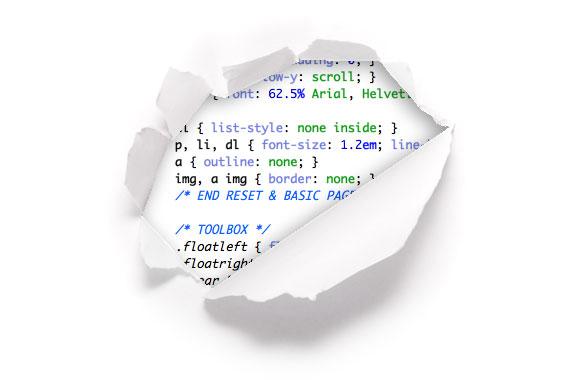 Broken code image